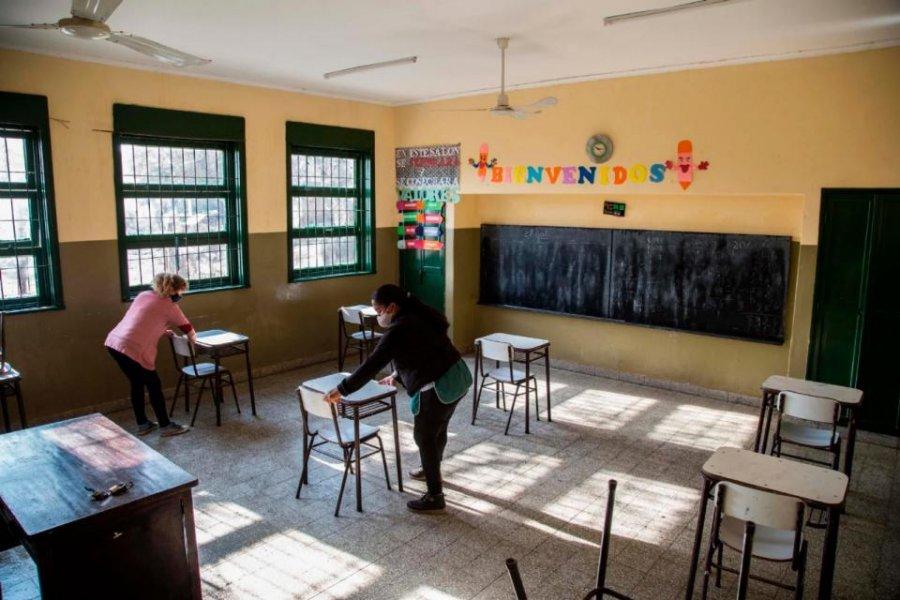 Cómo fue la vuelta a clases en San Juan: el protocolo del retorno a las aulas