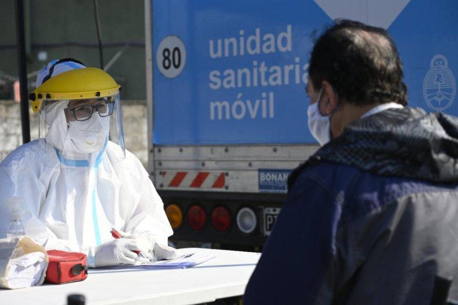 Coronavirus en Argentina: se sumaron 7369 casos y 131 nuevas muertes