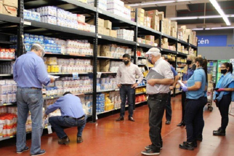 La Provincia controla el cumplimiento de Precios Cuidados en Capital