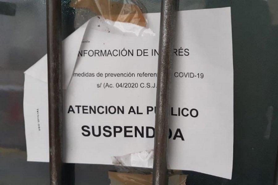 Corrientes: Activaron el protocolo de coronavirus en un Juzgado Federal