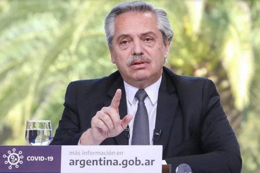 Alberto Fernández advirtió que la gente se relajó equivocadamente en el peor momento