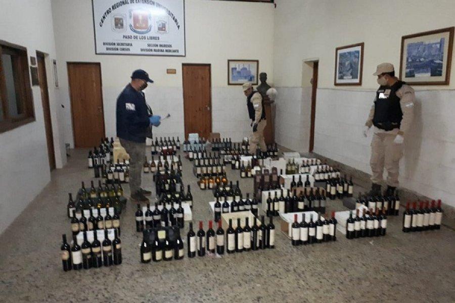 Prefectura decomisó un cargamento de vino valuado en más de $366.000