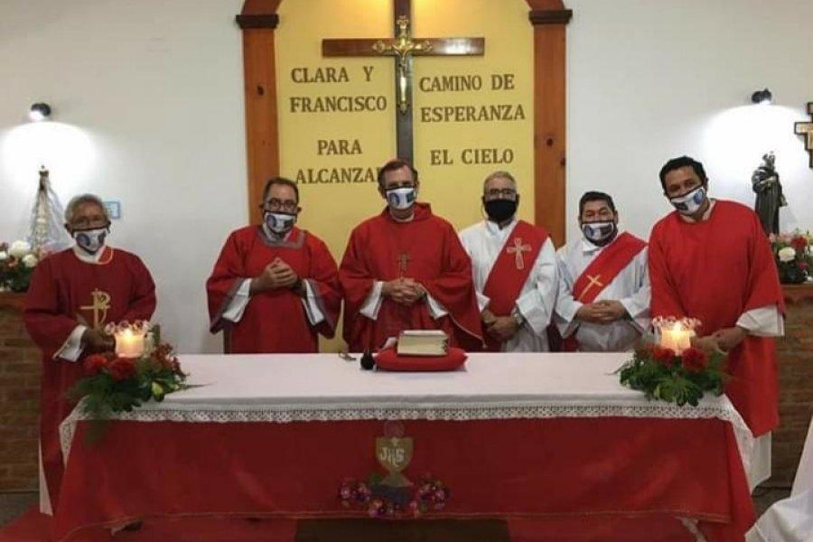 Monseñor Canecin recordó la vocación de servicio en el día del diácono