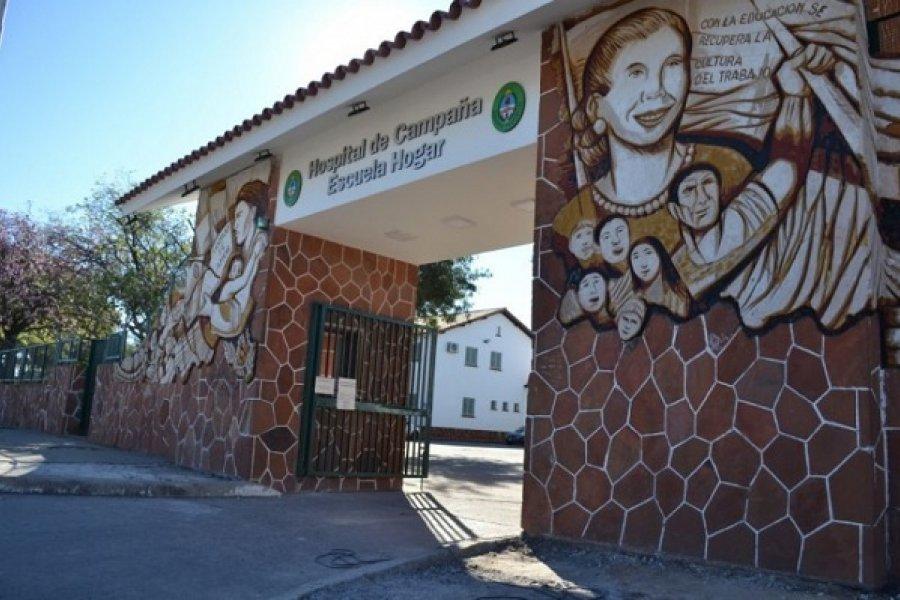 Corrientes: Hay once pacientes con Covid-19 internados en el Hospital de Campaña
