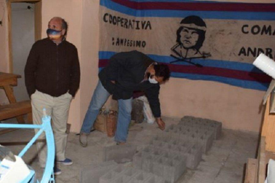 El Intendente de Mercedes visitó la Cooperativa Andresito