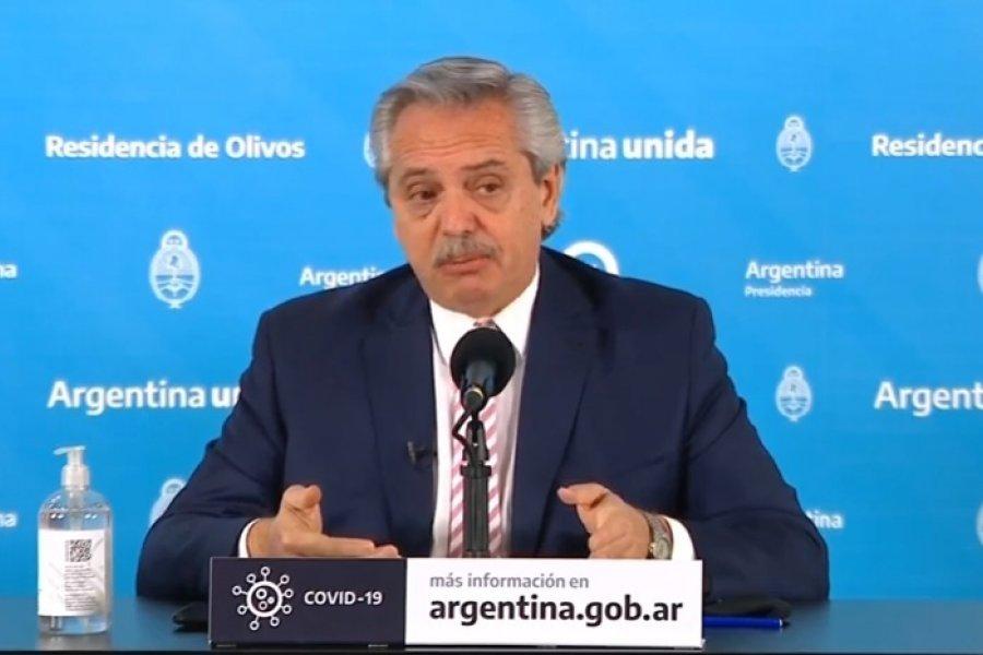 Alberto Fernández anunció que la Argentina producirá una vacuna contra el Coronavirus