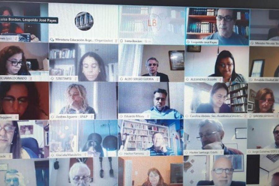 Eragia: Diseñaron acciones para sostener continuidad pedagógica en la pandemia