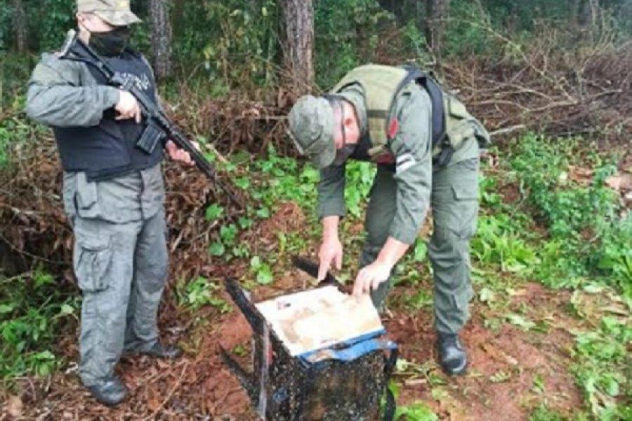 Misiones: Ocultaban 35 kilos de marihuana dentro de una cocina de chapa