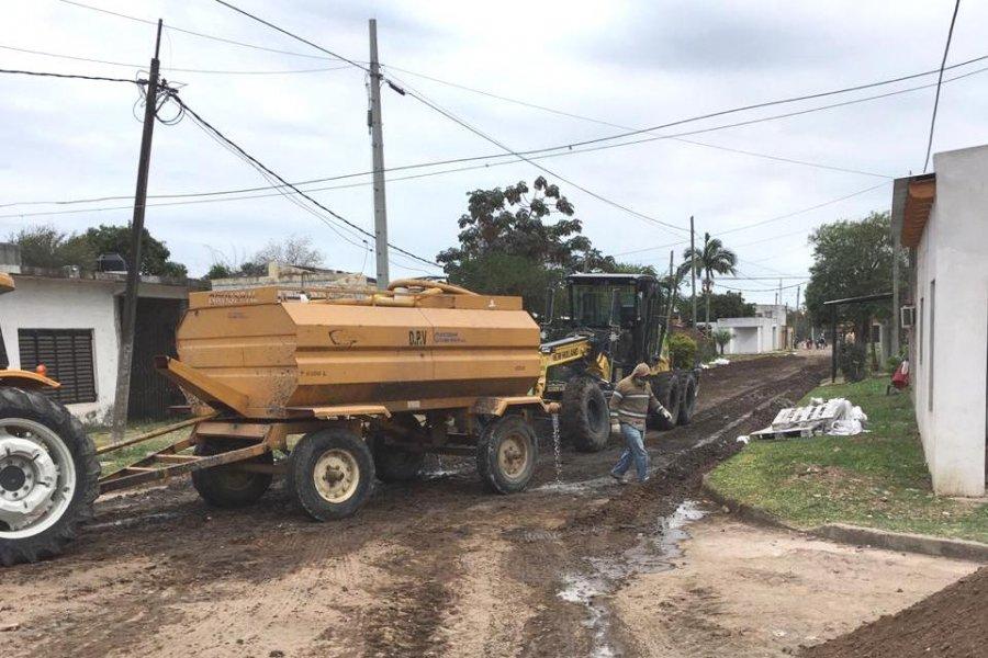 Pavimentarán con concreto asfáltico 23 cuadras del barrio Juan XXIII