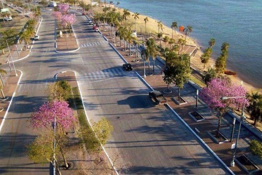 Clima agradable en Corrientes