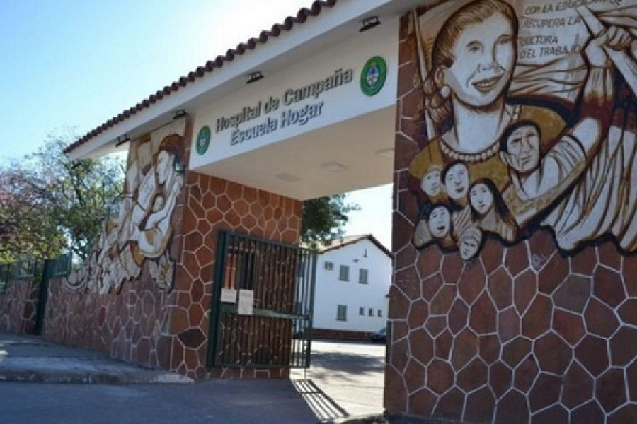 Corrientes: Falleció un hombre que estaba internado en el Hospital de Campaña