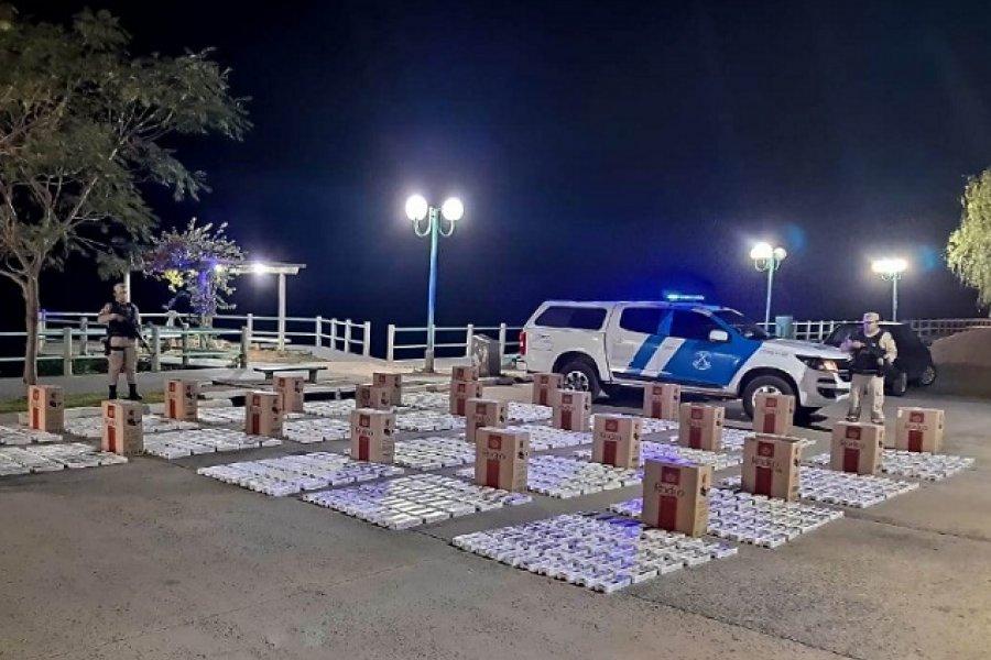 Itatí: Prefectura secuestró cigarrillos con aforo que ronda un millón y medio de pesos