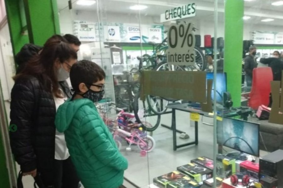 Comerciantes optimistas respecto a las ventas por el Día del Niño