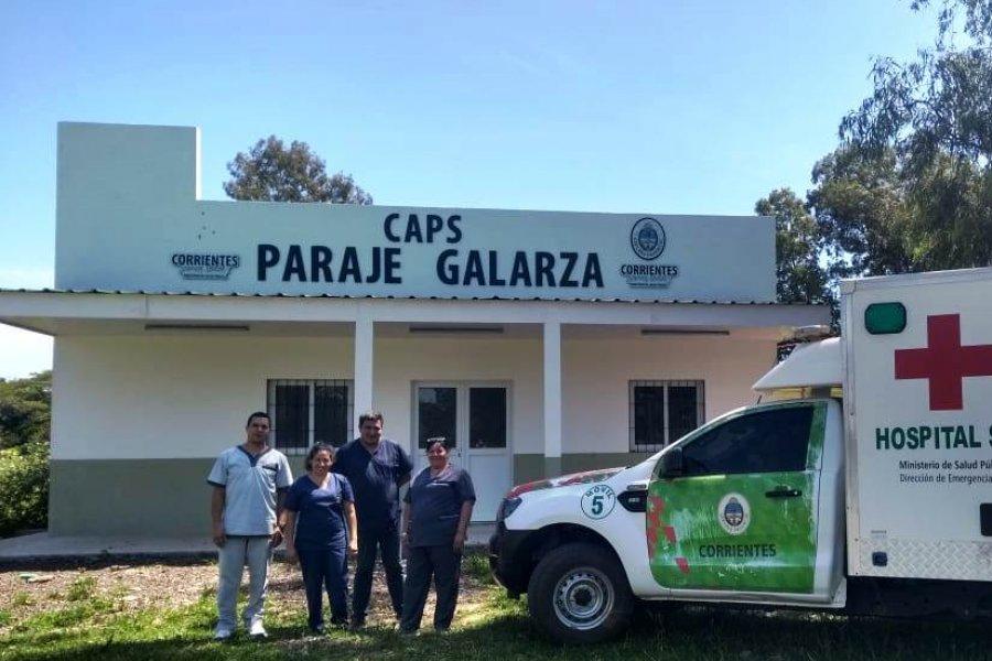 Construyeron un Centro de Salud en el paraje Galarza