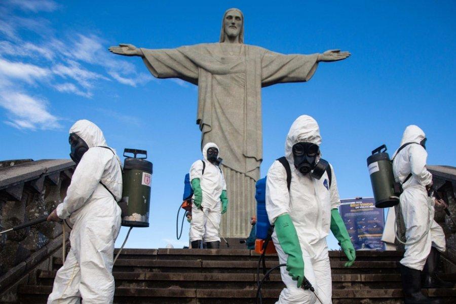 El coronavirus no cede, pero reabren en Río el Cristo Redentor y el Pan de Azúcar