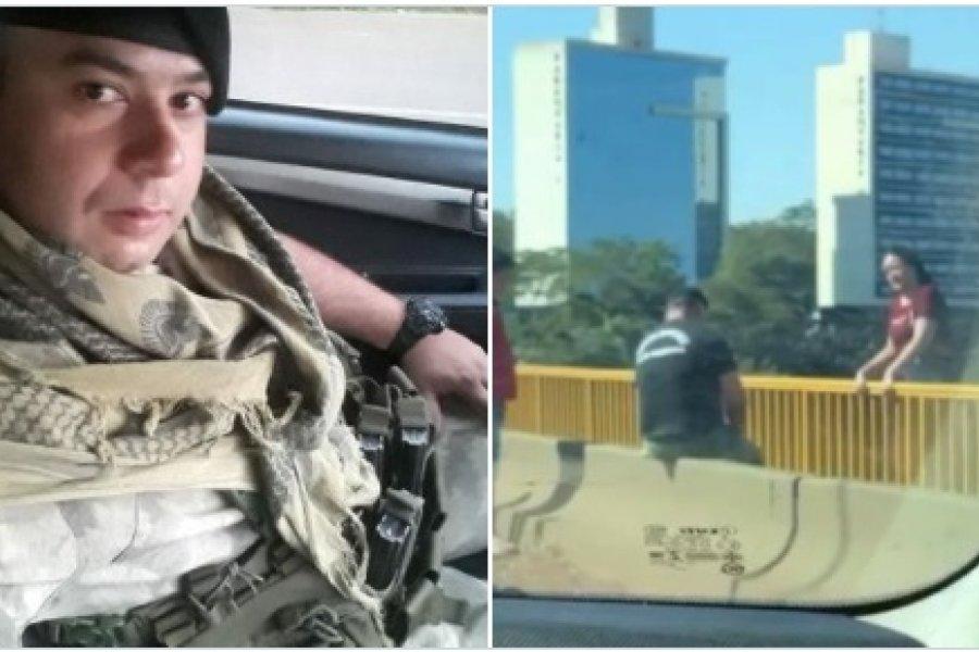 Policía lee pasaje de la Biblia y evita que mujer se lance de un puente