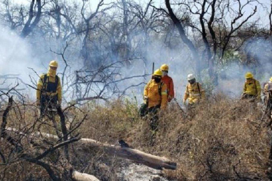 En la última semana se registraron 1579 focos de fuego en Chaco