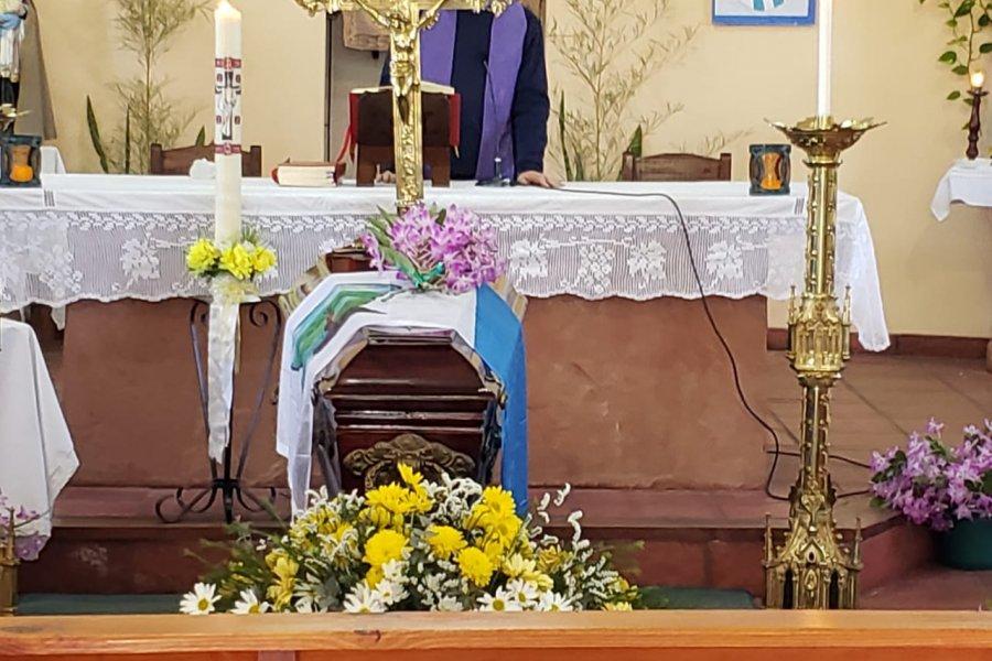 Emotiva despedida al Padre Julián Zini