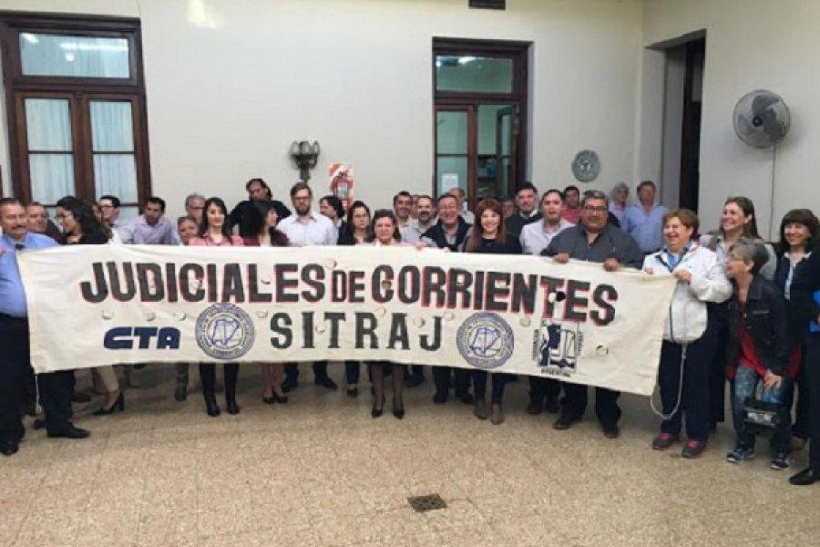 SITRAJ reactivó reclamo por aumentos salariales