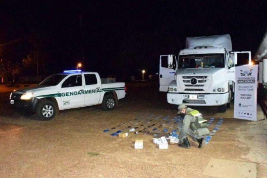 Corrientes: Dos detenidos por contrabando de mercadería electrónica en Ruta N° 14