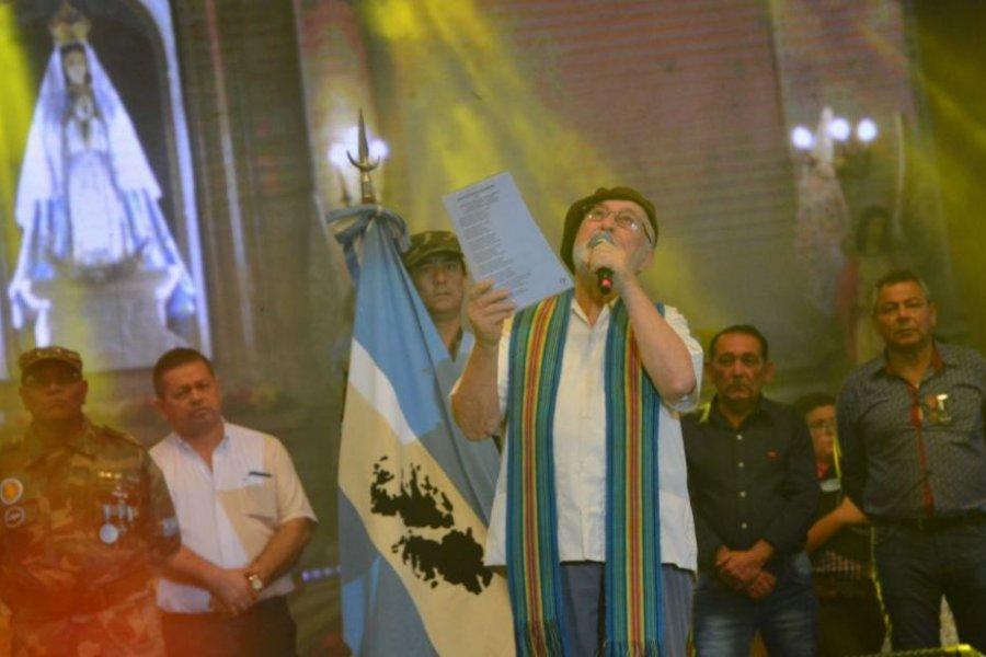Declararán Ciudadano Ilustre al padre Julián Zini con un homenaje en el Teatro Vera