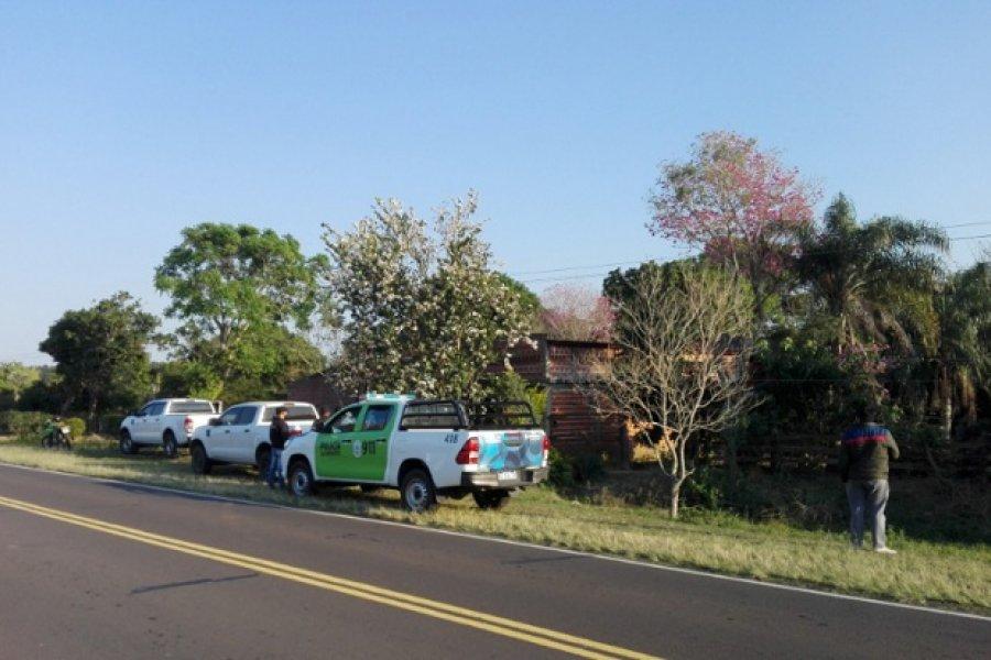 Allanamiento en Caá Catí: Más detenciones por el asalto del San Gerónimo