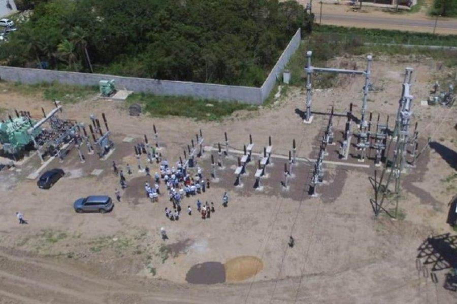 Avanzan las obras de infraestructura eléctrica en alta tensión para Paso de la Patria