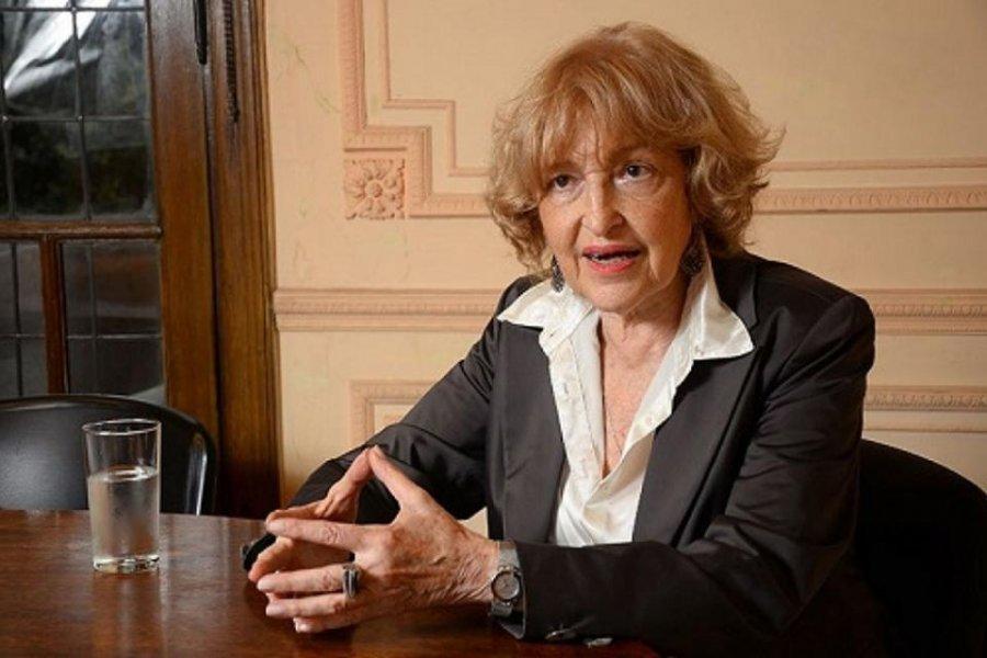 Renunció la viceministra de Educación, Adriana Puiggrós