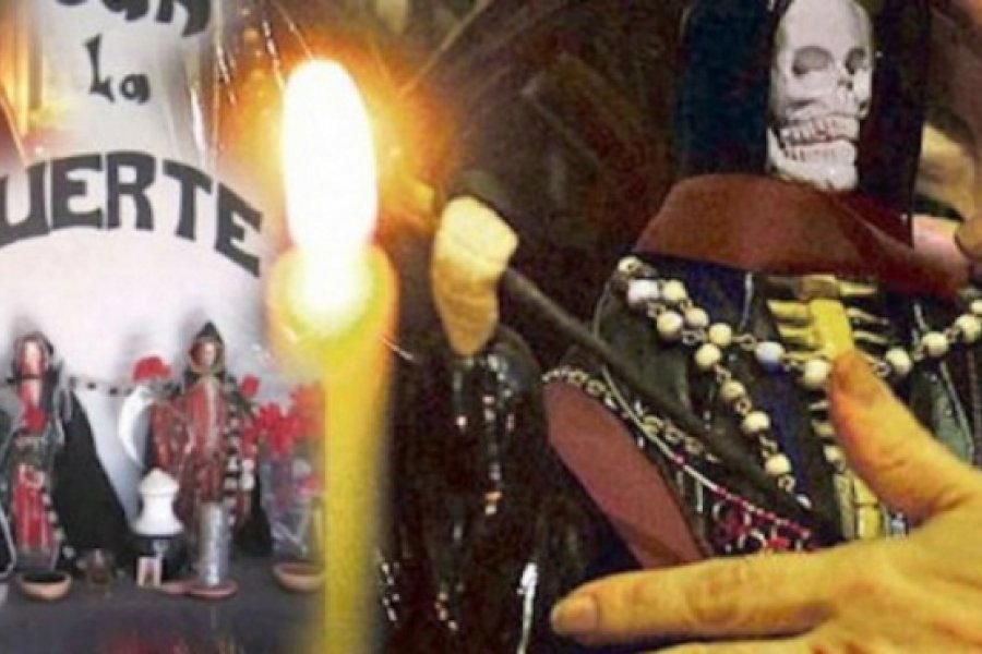 Más 40 personas fueron sorprendidas por la Policía en una fiesta a San La Muerte