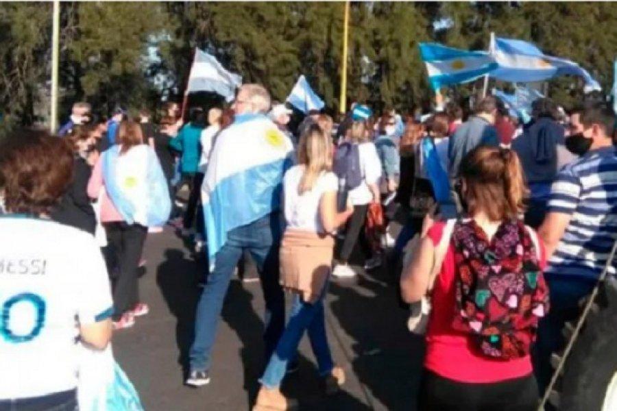 Santa Fe: El Intendente de Avellaneda tiene coronavirus y estuvo en la marcha anticuarentena