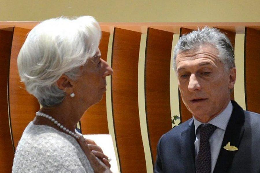 El FMI apuntó al gobierno de Mauricio Macri y a los inversores por la crisis económica