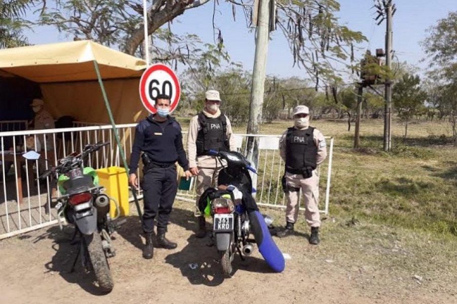Motociclista salía de Itatí con un ladrillo de marihuana