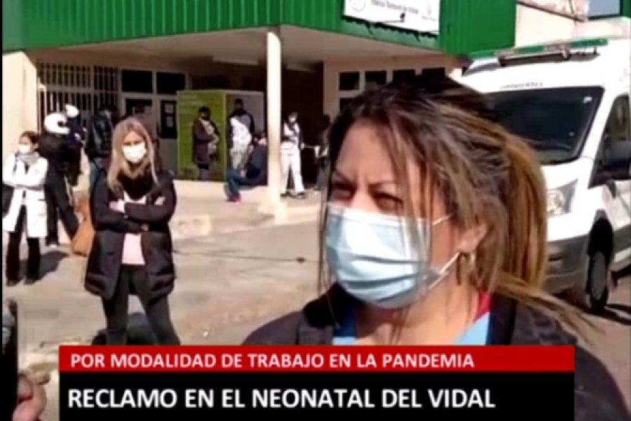 """El drama de los trabajadores de la salud de Corrientes: """"Nos obligan a abandonar pacientes"""""""