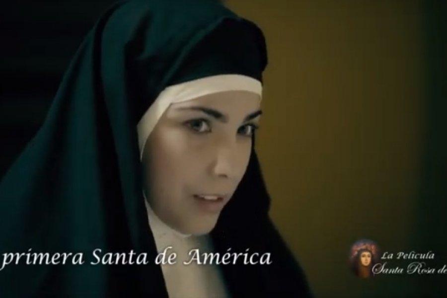 El 23 de agosto estreno digital de la película sobre Santa Rosa de Lima