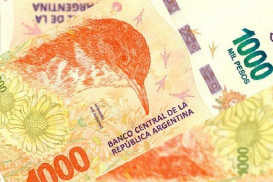 Comerciantes fueron estafados con billetes de mil pesos falsos
