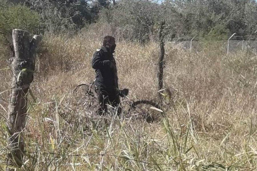 Escondían dos bicicletas robadas en un terreno baldío