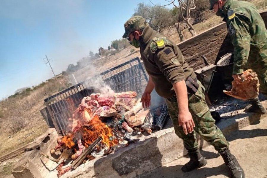 San Roque: Policías decomisaron carne no apta para el consumo