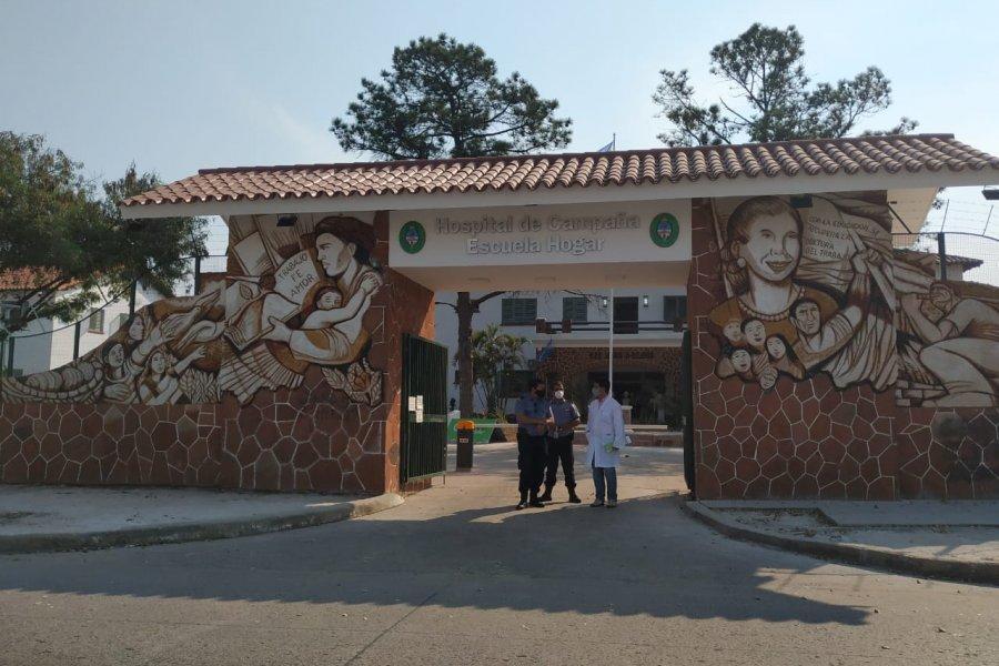 Corrientes: 61 personas están internadas en el Hospital de Campaña