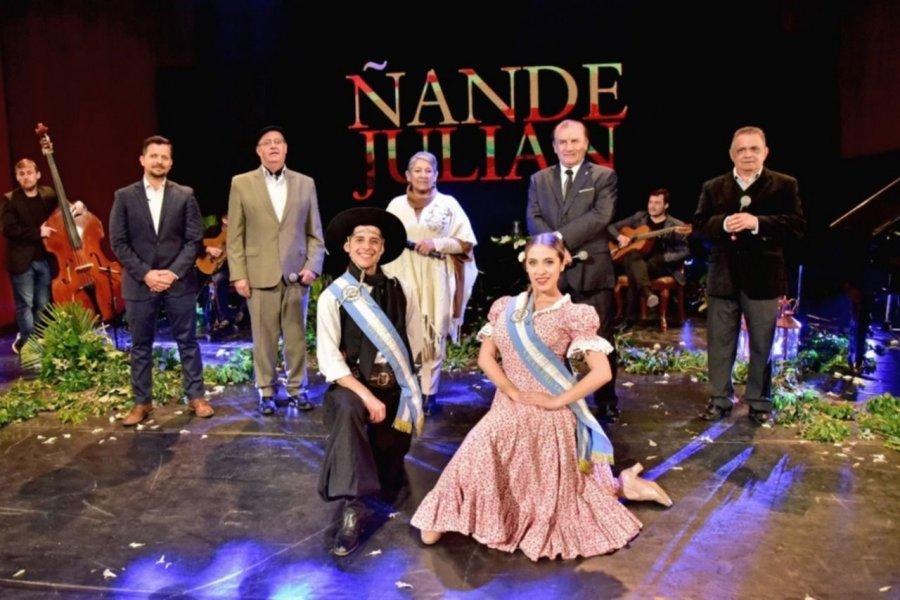 """""""Ñande Julián"""", un homenaje musical con la bendición del Papa Francisco"""