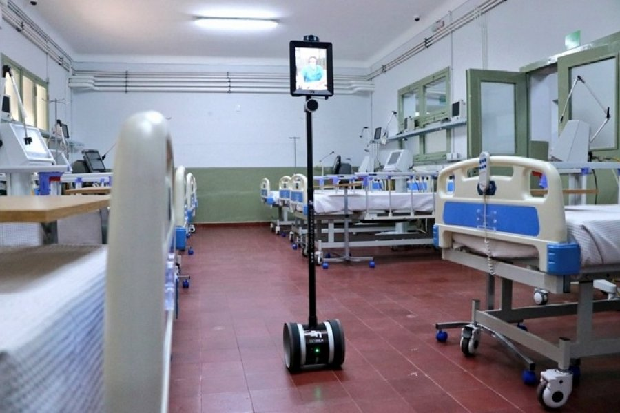 Hospital de Campaña: 20 pacientes están en terapia intensiva