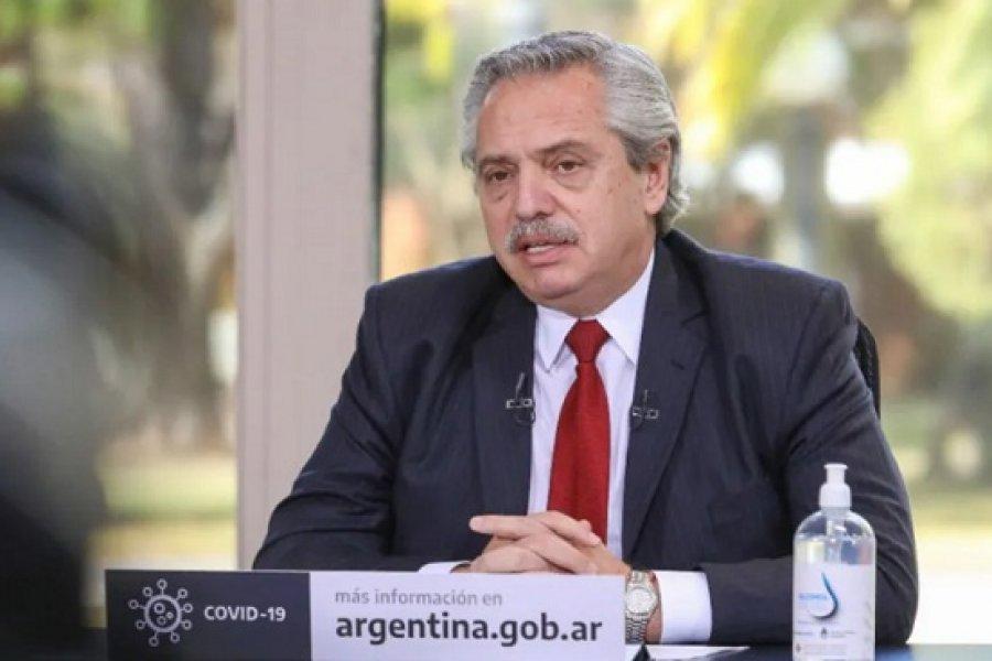 Alberto Fernández: No tiene sentido ofenderse por lo que los datos objetivos muestran