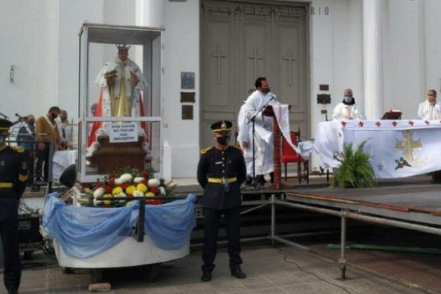 Emotiva celebración por el día de San Luis Rey: Somos una familia peregrina