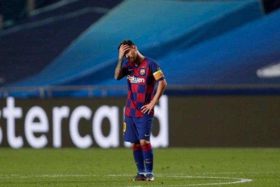 Messi le informó al Barcelona su intención de irse