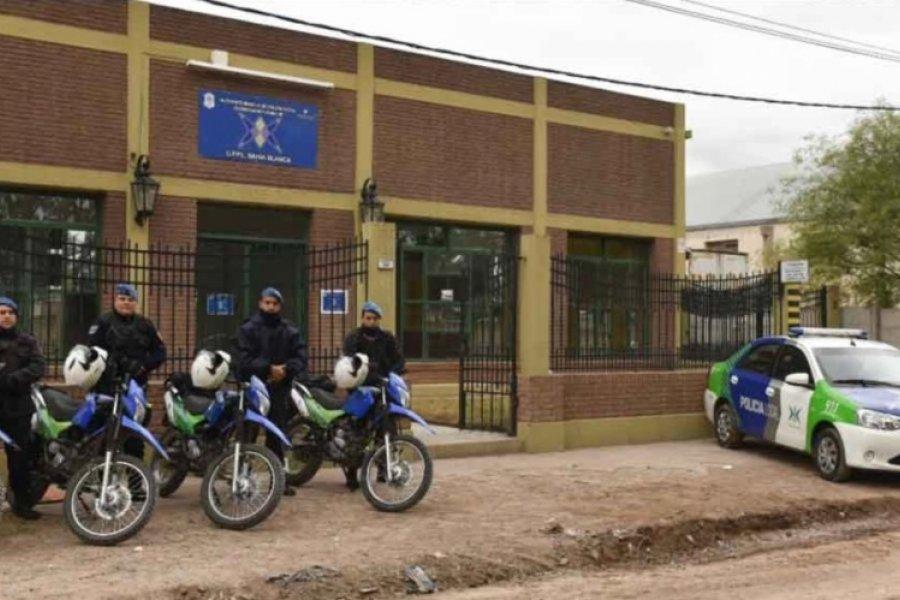 Allanan el Comando de patrullas de la Bonaerense en Bahía Blanca
