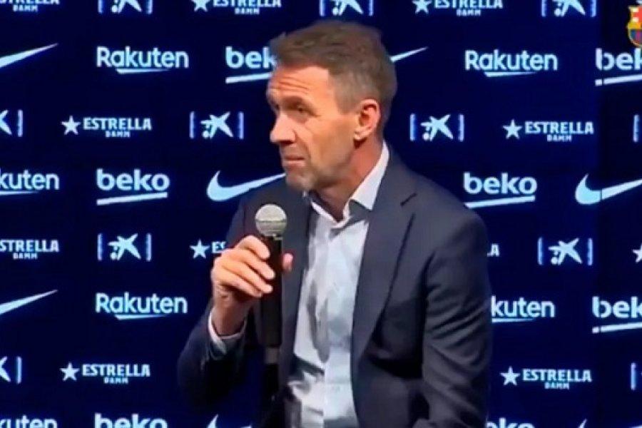 En pleno escándalo por Messi, Barcelona presentó un refuerzo y sentó posición: No contemplamos su salida