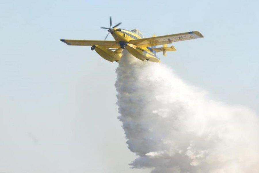 Corrientes: Nación enviará aviones hidrantes para combatir los incendios