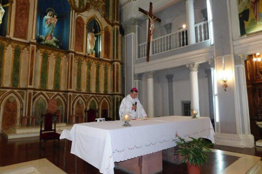 Monseñor Canecin: La solidaridad es una expresión concreta del amor