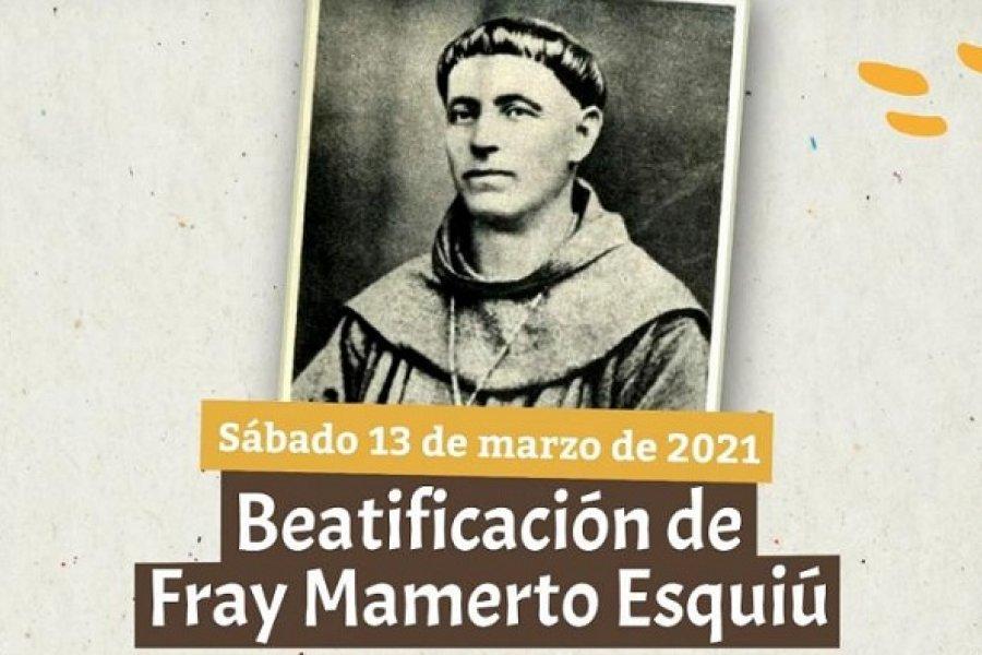 Esquiú será beatificado el 13 de marzo de 2021 en Catamarca