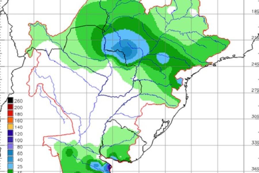Se registran escasas lluvias en Corrientes desde julio