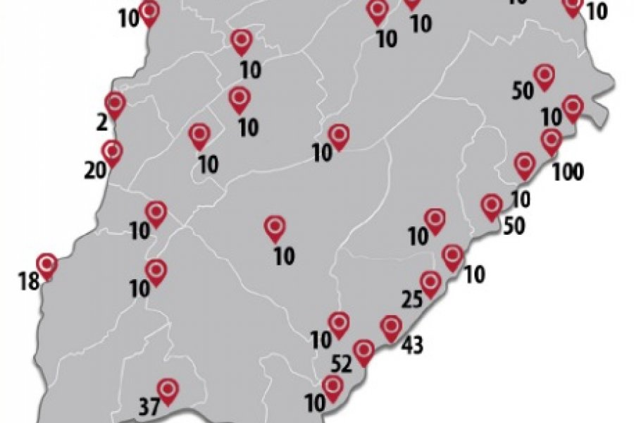 La Provincia ejecuta más de mil viviendas en 34 municipios